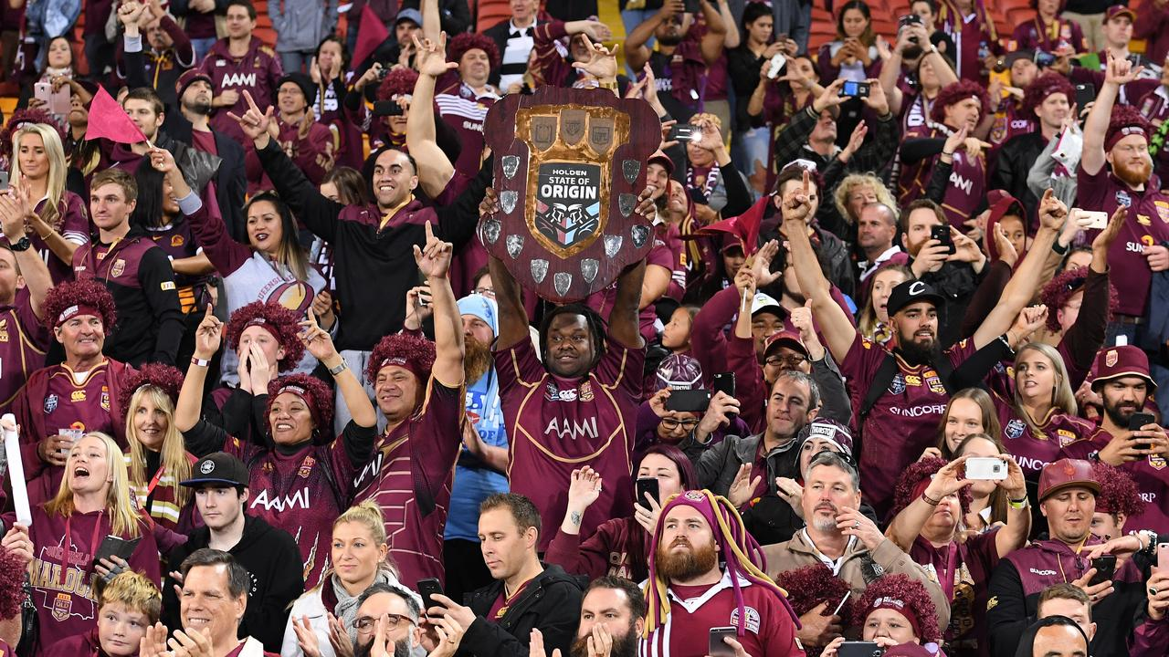 Origin remains central to Queensland's identity. Photo: AAP Image/Dave Hunt