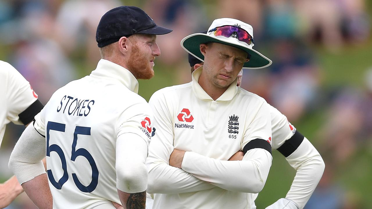 Joe Root had no answers to Tom Latham.