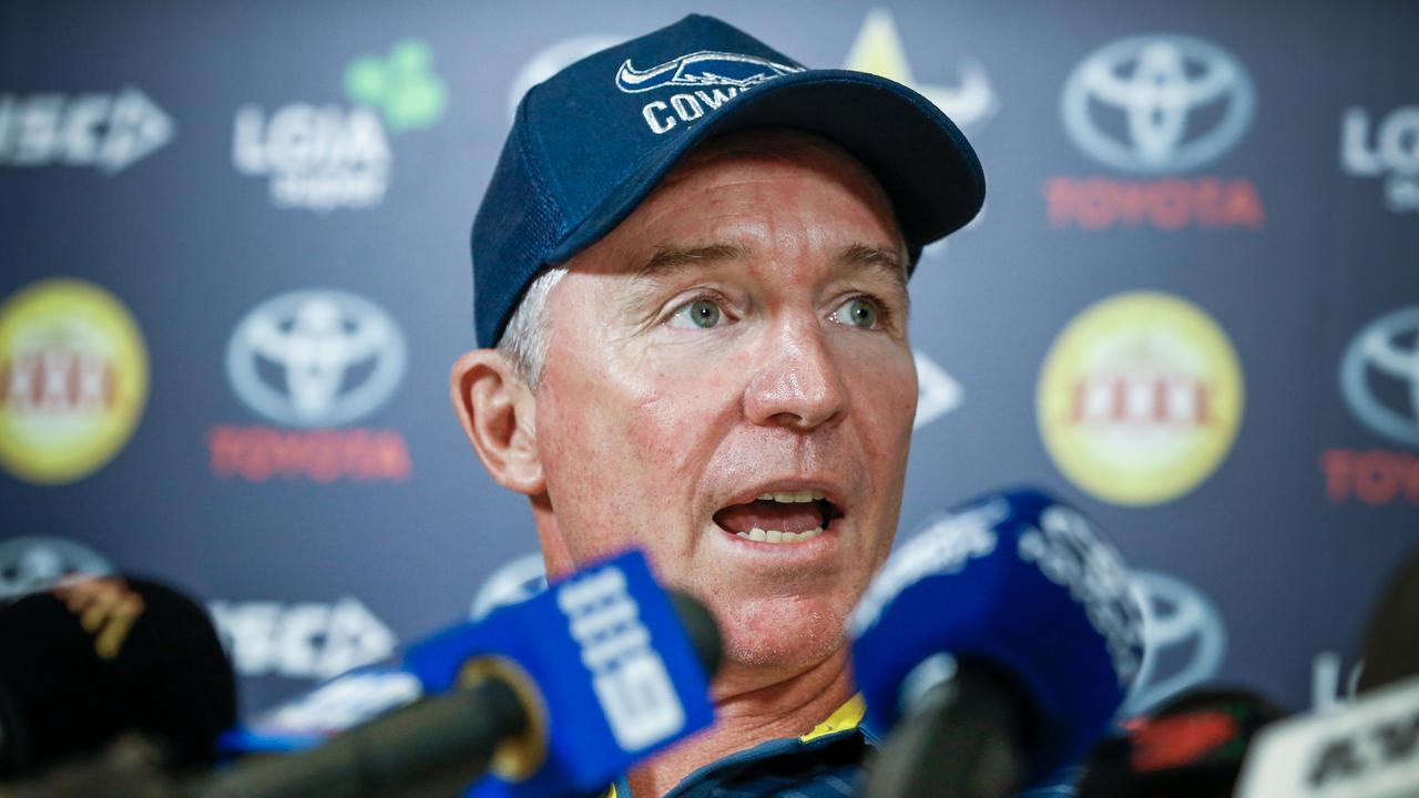 North Queensland Cowboys coach Paul Green. Picture: Michael Chambers/AAP