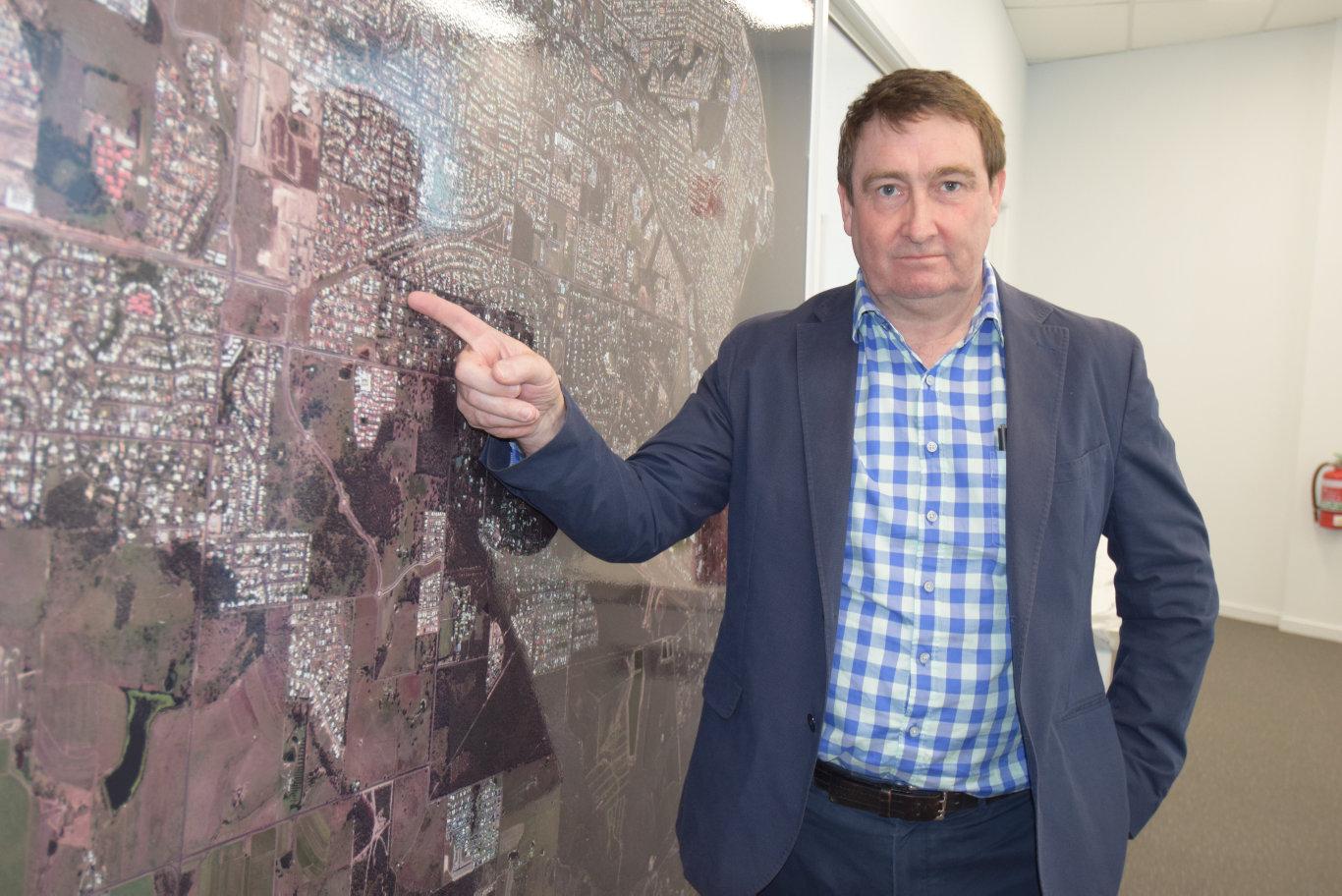 Fraser Coast Property Industry Association president Glen Winney