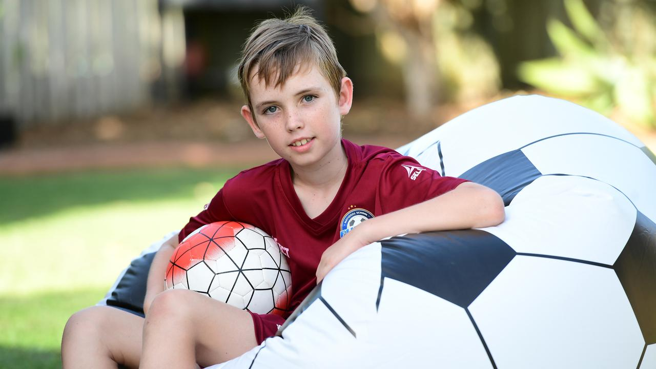 Bundaberg's Cooper Lloyd has excelled in football and futsal in the past 12 months.