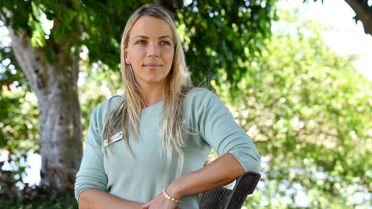 Julia Kasiske from Reef Catchments.