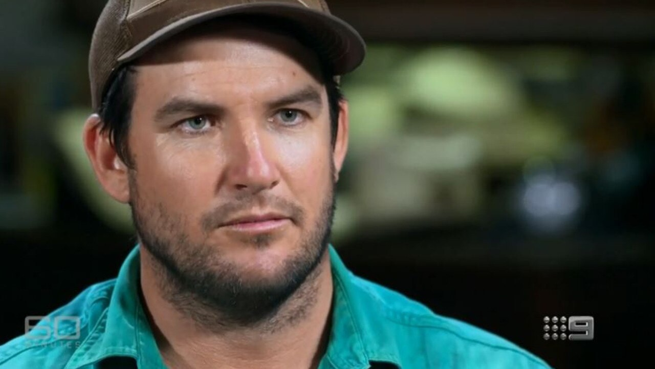 NT turf farmer Gavin Howie.
