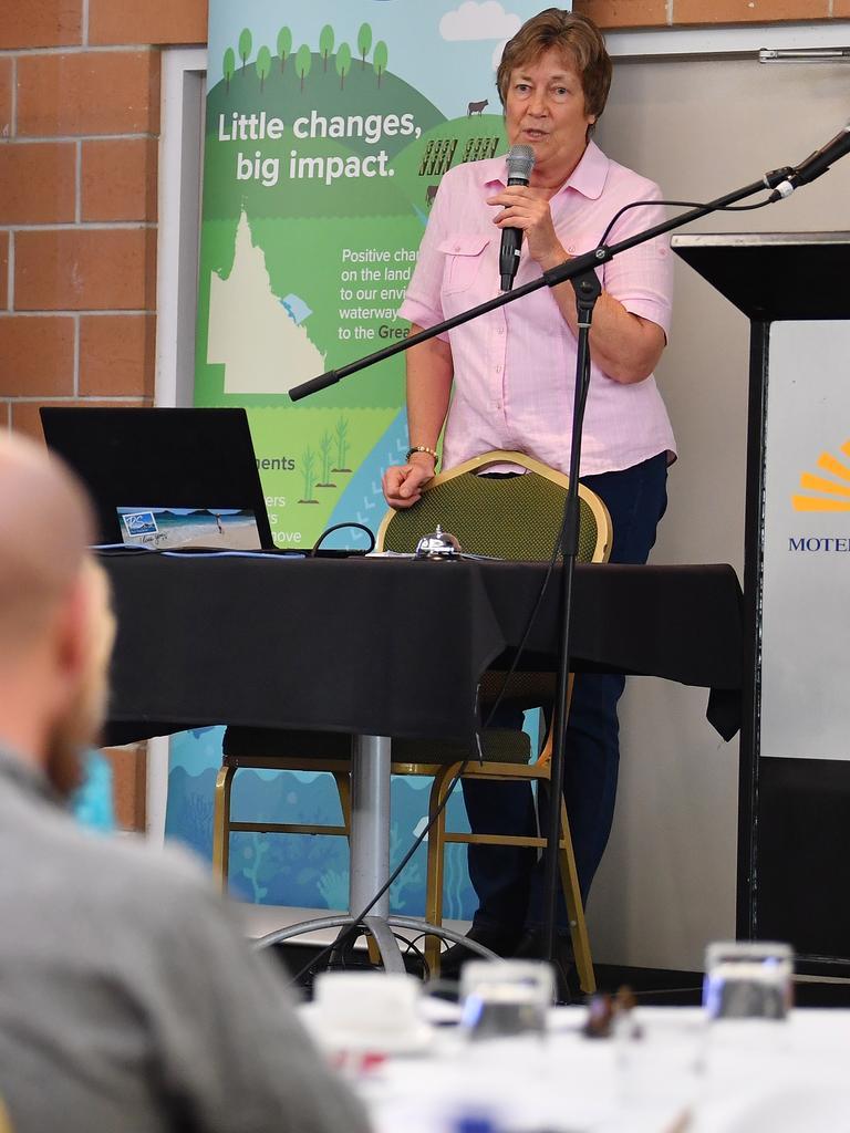 Reef Catchments guest speaker Dr Christine Jones