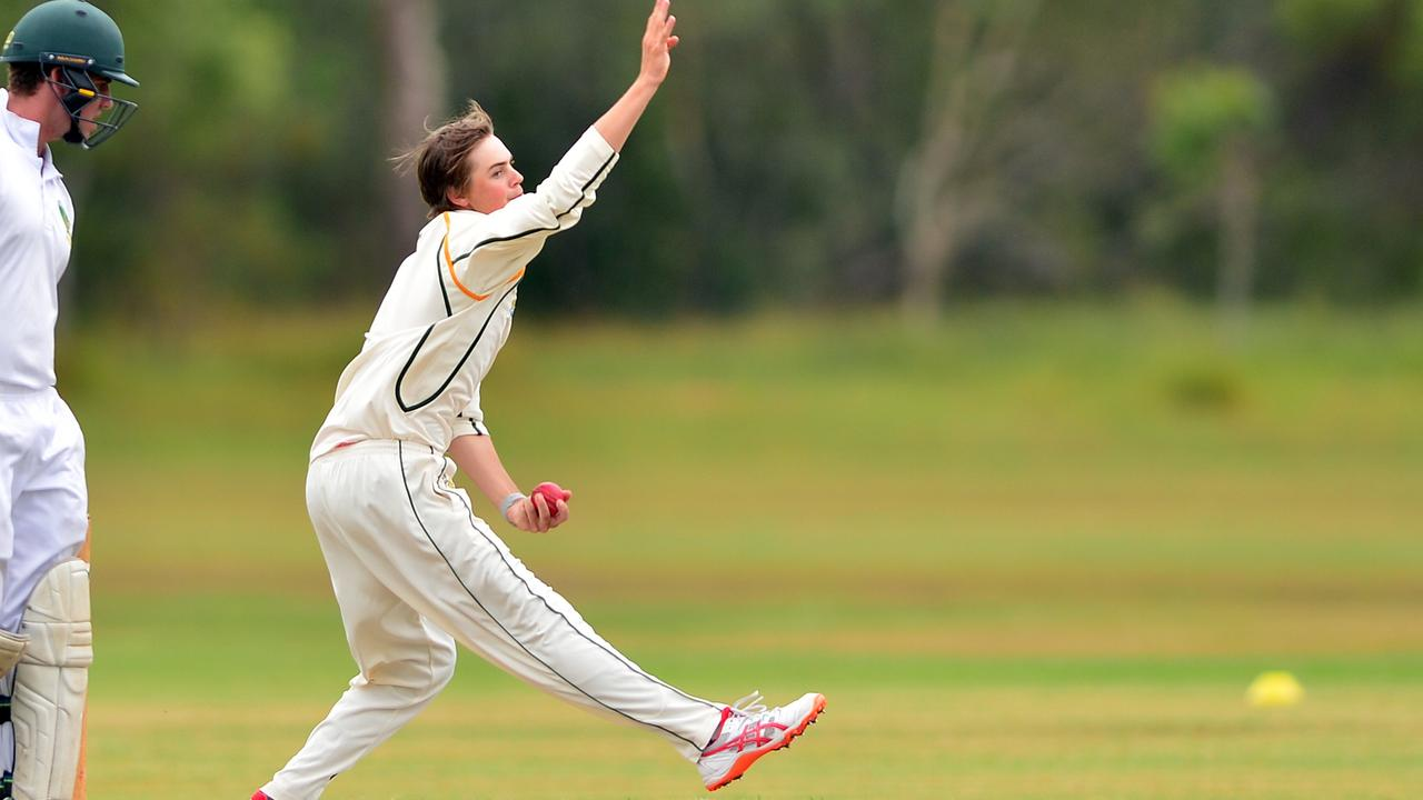 BAG OF SCALPS:. Joel Owen, pictured in a previous game, had a five wicket haul for Glasshouse against Caloundra. Picture: John McCutcheon.