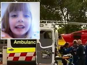 Girl found in hot car dies in hospital