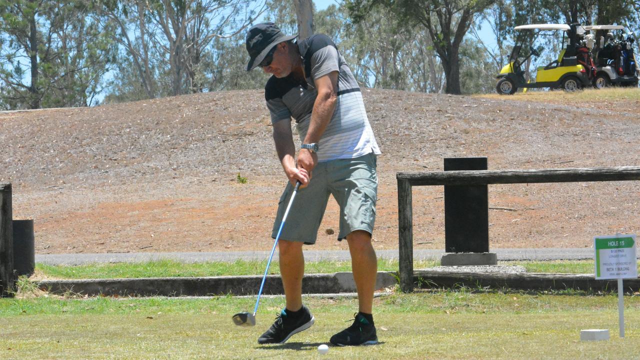Action from Scott Claridge Golf Day. PICTURE: Nick Kossatch