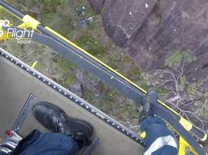 Mt Beerwah rescue