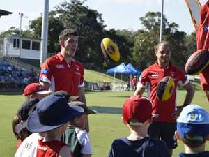Swans fly into Coffs with 2020 vision