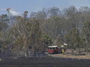 Old Goombungee Rd fire