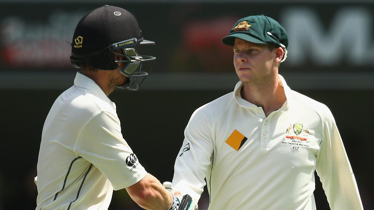 Steve Smith and Kane Williamson back in 2015.