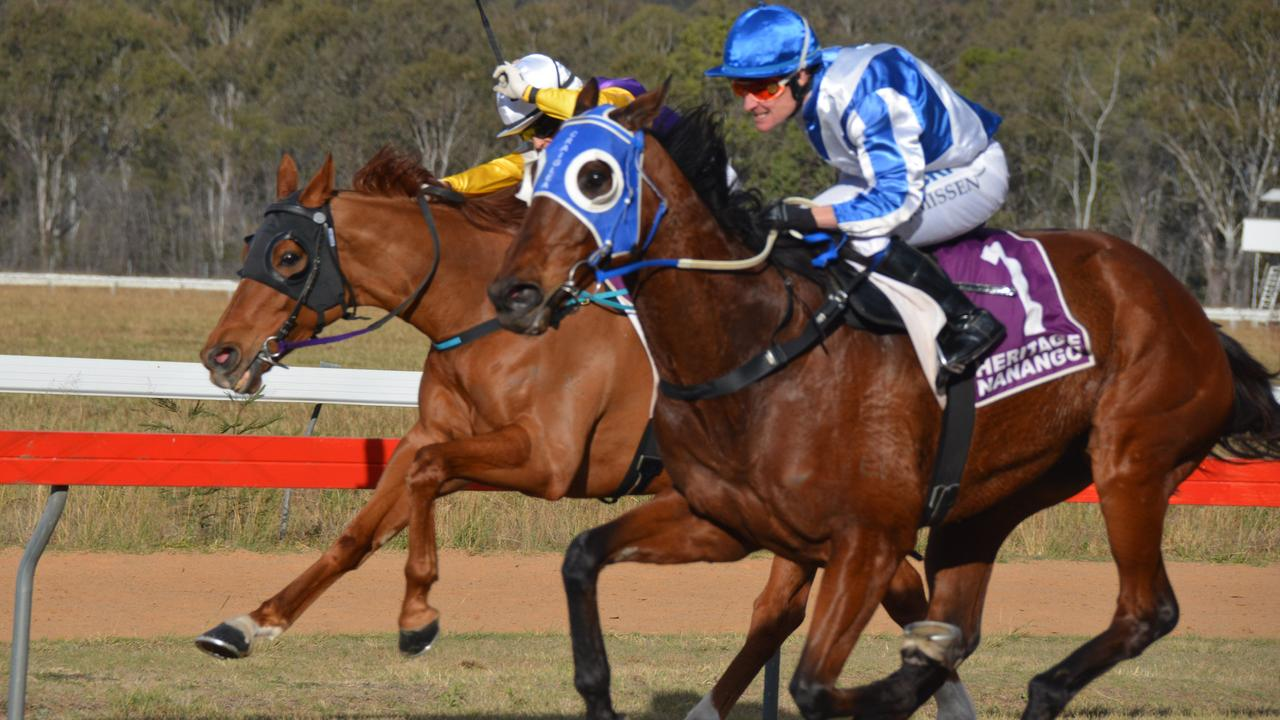 Nanango was one of eight race tracks to host a winner in the drought fundraiser held by Racing Queensland. (Photo: Jessica McGrath)