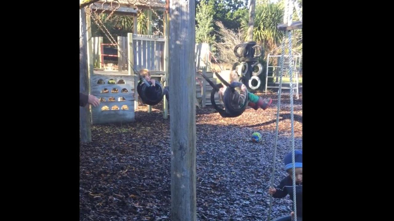 The play centre in Waipara. Picture: Glenmark Playcentre