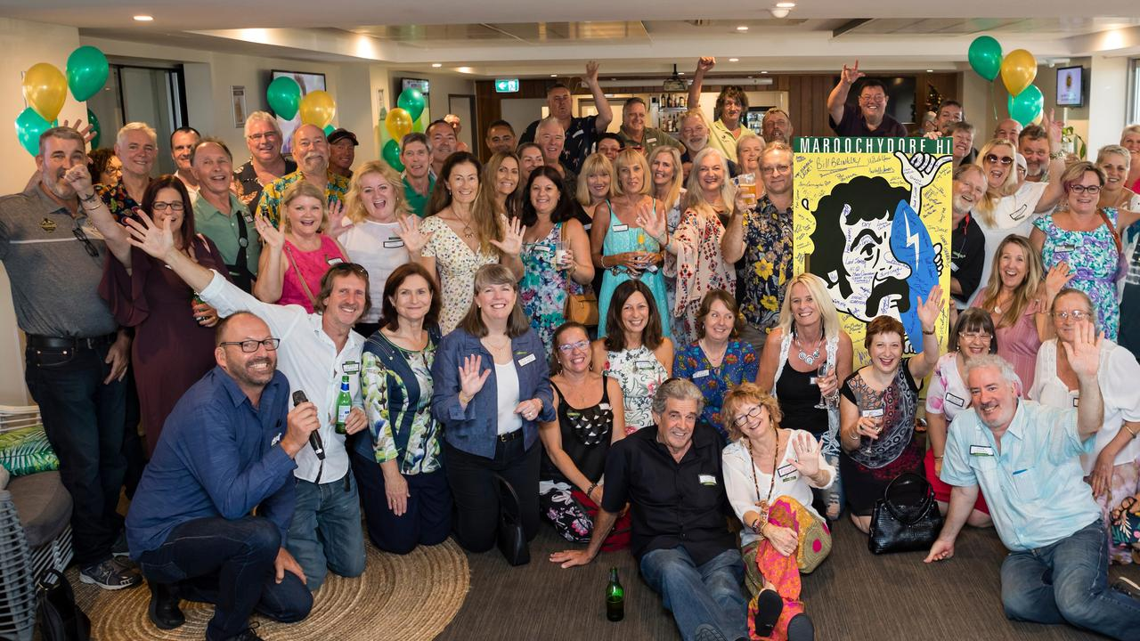 The Maroochydore High School Class of '79, 40 years on. Picture: Sarah Jane Smith