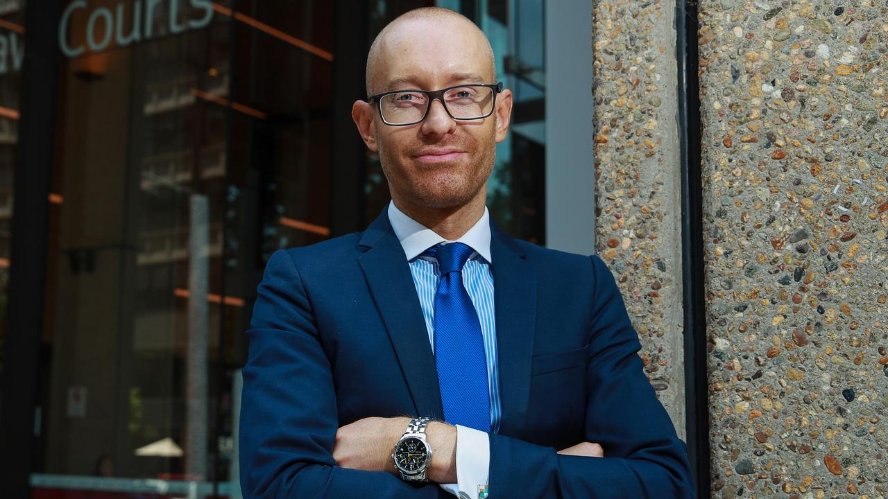 Criminal solicitor Nicholas Stewart has seen first-hand what happens to young people who make one foolish decision when it comes to drugs. Picture: Justin Lloyd