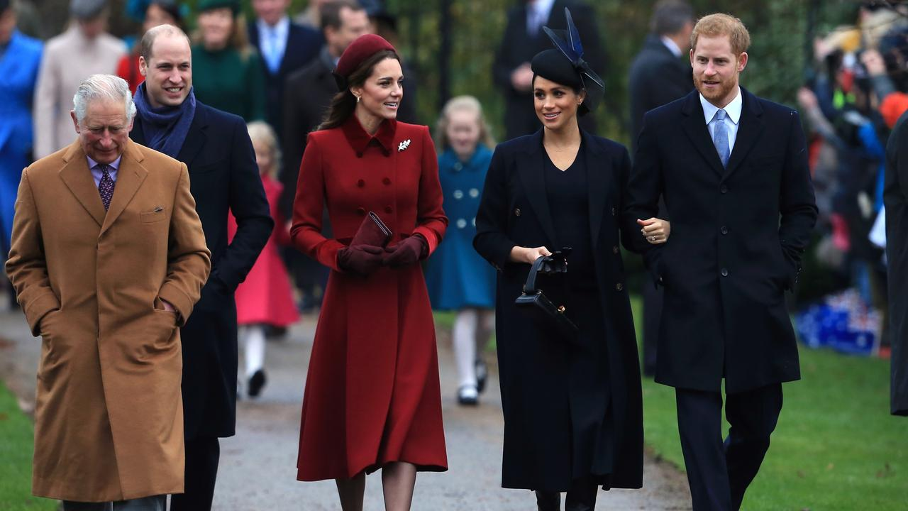 These would be the only working royals if Prince Charles gets his way. Picture: Stephen Pond/Getty Images
