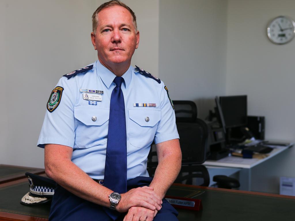 NSW Police Commissioner Mick Fuller would support drug amnesty bins. Picture: Gaye Gerard