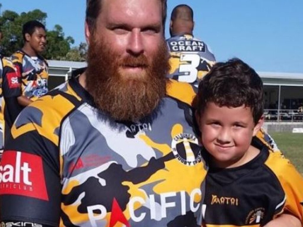 Popular prop forward and father David Wiedman was struck down with stage 3 Hodgkin's lymphoma last year and was out of work for six months.