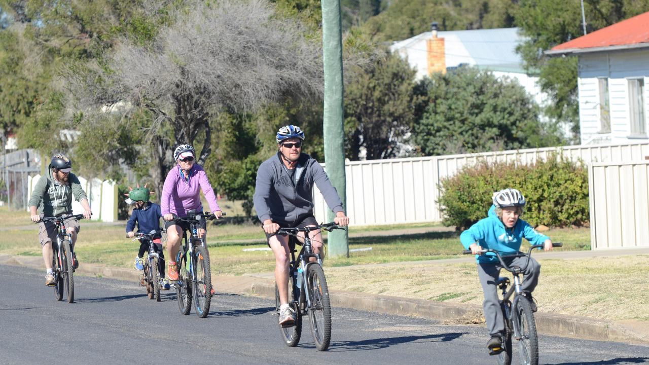 5. Explore the South Burnett rail trail on your bike or on foot as a family. Picture: Tobi Loftus