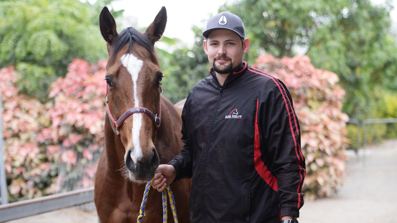 Trainer Jared Wehlow was fined $3000 each on both charges. Picture Allan Reinikka