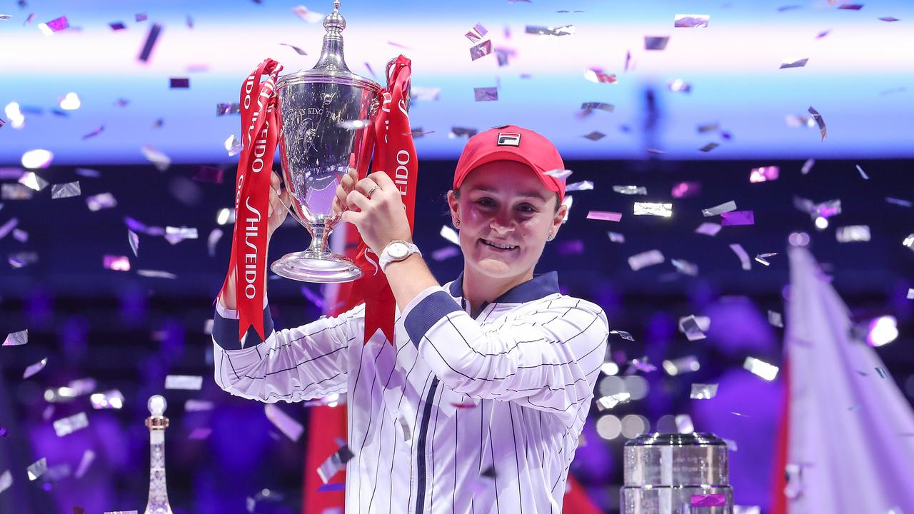 Ash Barty has enjoyed an incredible 2019. Picture: Getty Images