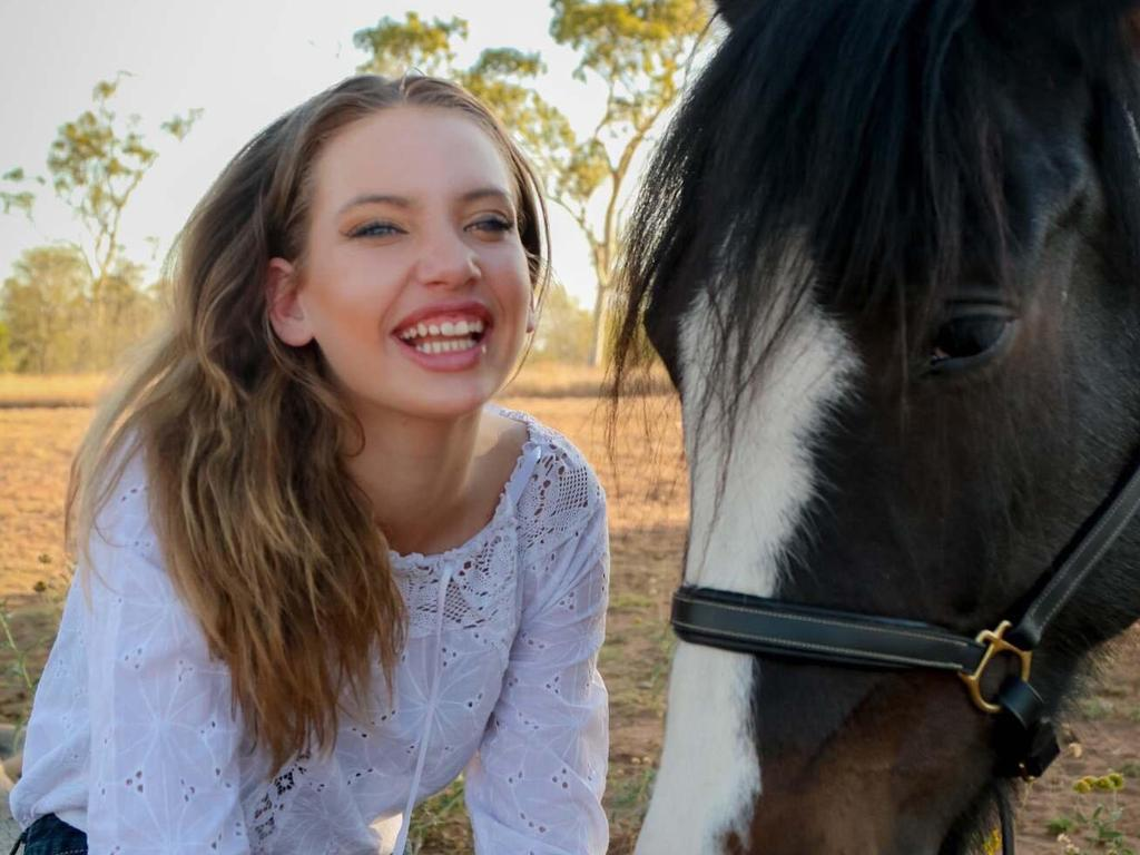 HELPING OUT: Emerald's Jonti Withers, 12, has decided to organise a local fashion event to raise money for families suffering from the drought.