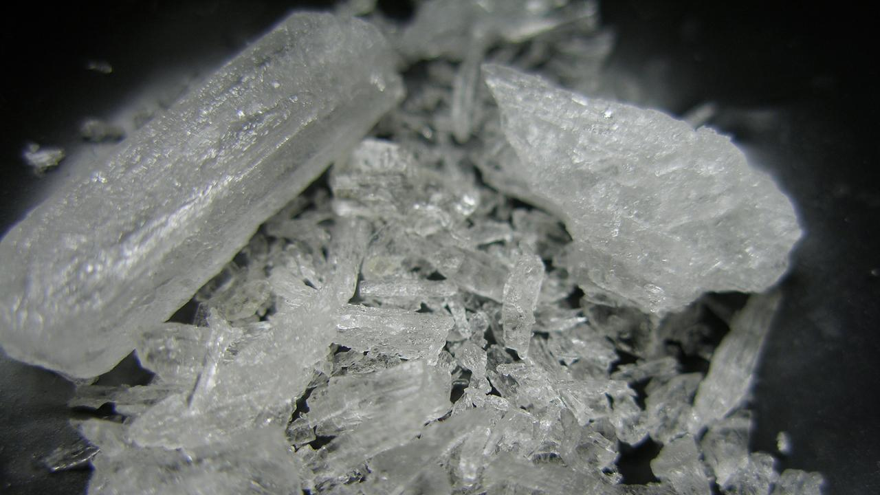 A man who was found with a large amount of methylamphetamine has faced court for sentencing.