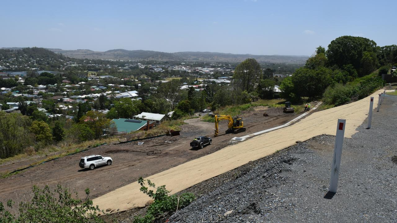 Lismore City Council continues its works on Beardow St, Lismore Heights.