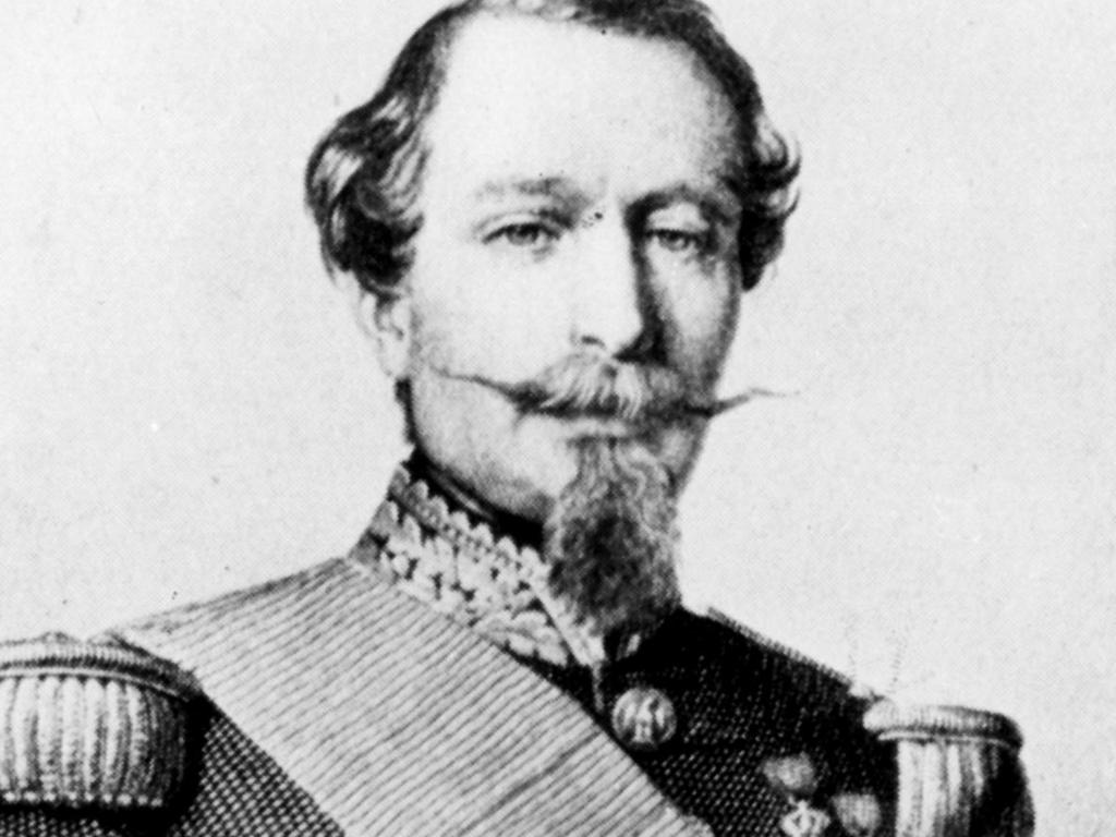 Napoleon III rules as Emperor over the second French Empire.