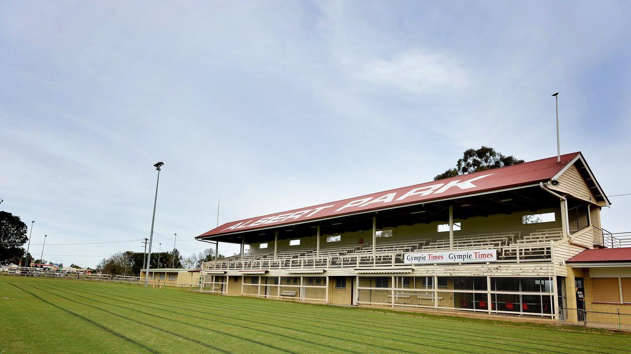 Albert Park sports ground in Gympie.