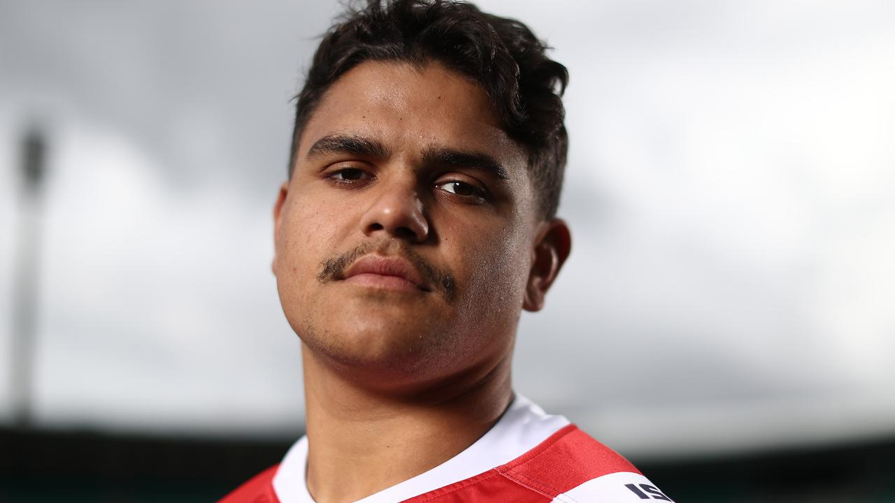 Wests Tigers are waiting for Latrell Mitchell's next move. Photo: Mark Metcalfe/Getty Images