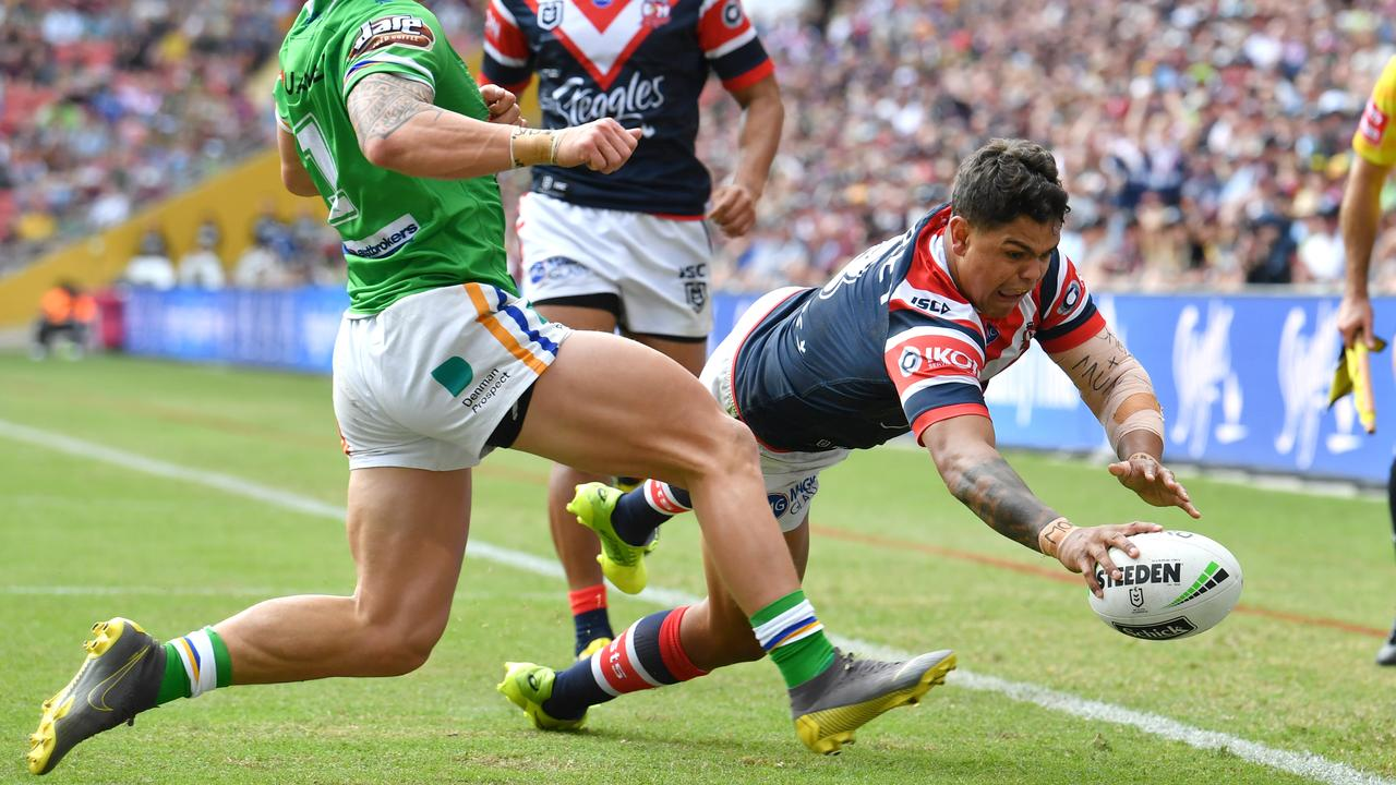 Latrell Mitchell was deemed by some as the world's best player during a period last season. Picture: Darren England