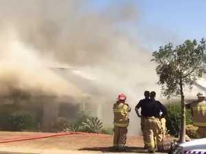 Glenvale house fire