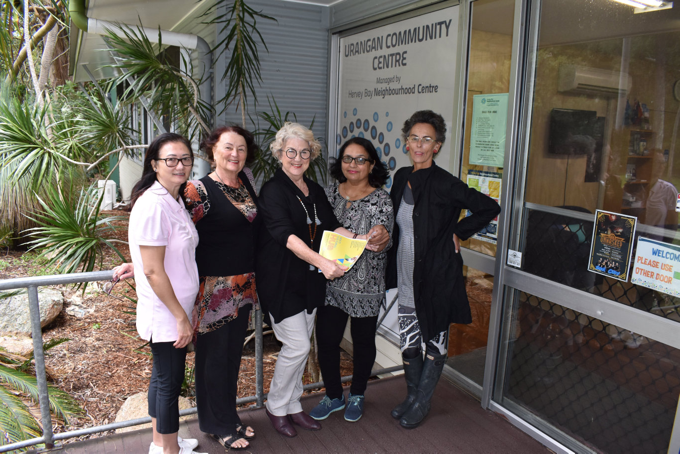 The Urangan Community Centre offers English lessons for migrants. See details on this page.