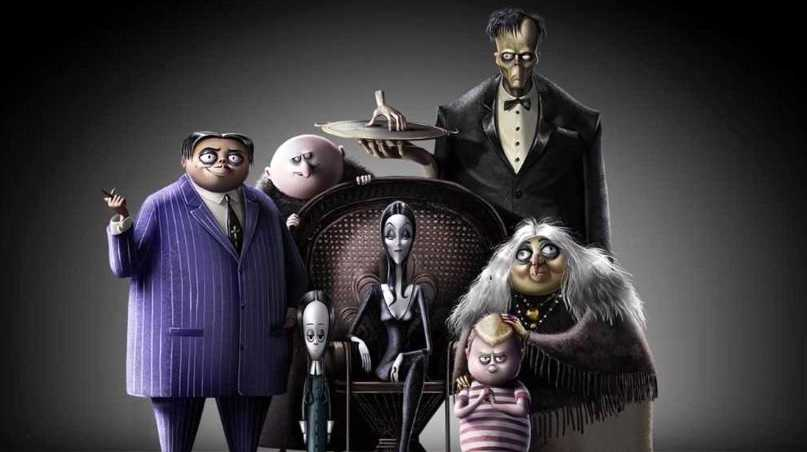 The new animated version of The Addams Family.