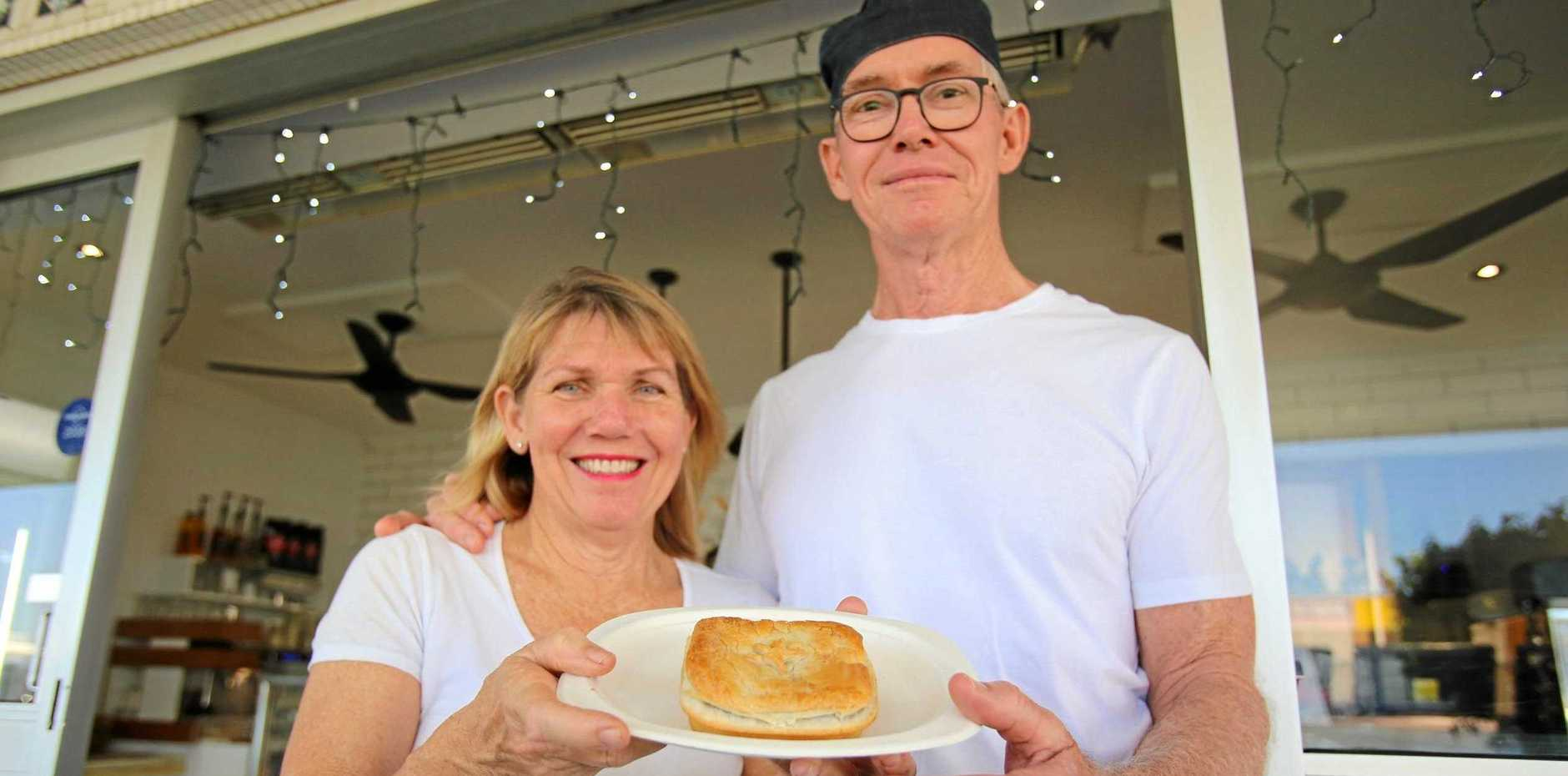HUMBLE PIE: Jayne and Paddy O'Regan have sold Jochheims Pies as they focus on health and family.