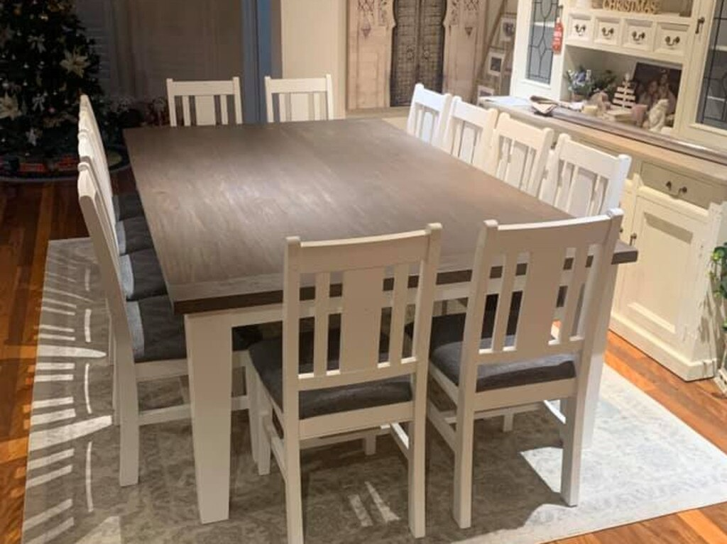 One mum said the dining room set was now probably worth $2000. Picture: Facebook / Bunnings Mums Australia