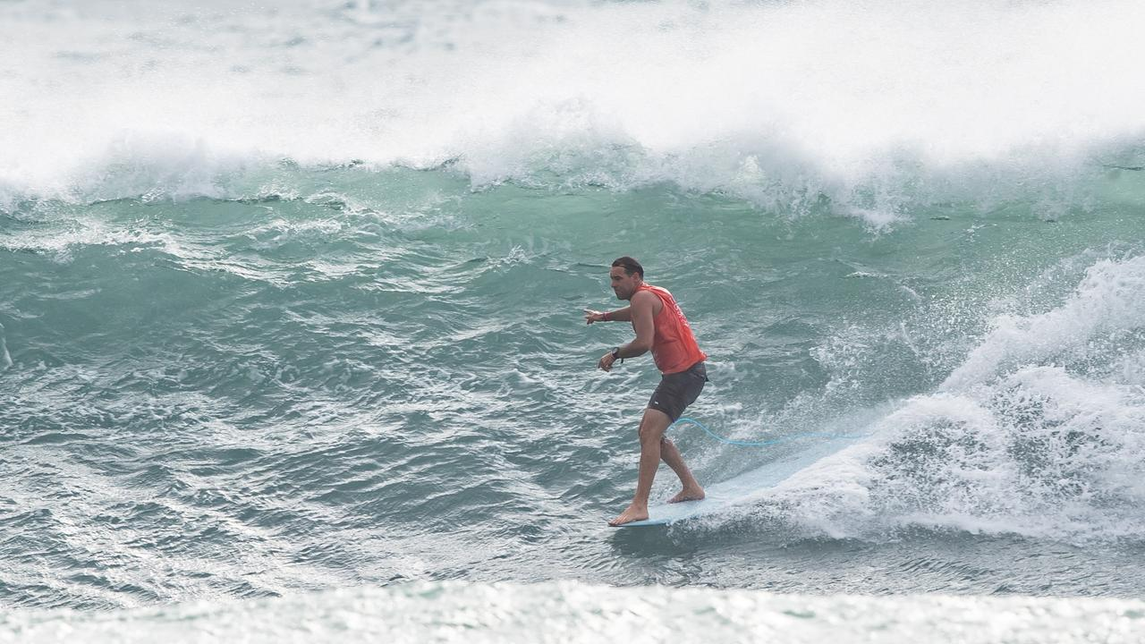 Noosa's Josh Constable advanced to Round 3 of the 2019 Taiwan Open World Longboarding Championship after winning Heat 7 of Round 2 at Jinzun Harbour on December 2, 2019 in Taitung County, Taiwan (Photo by Tim Hain/WSL via Getty Images)