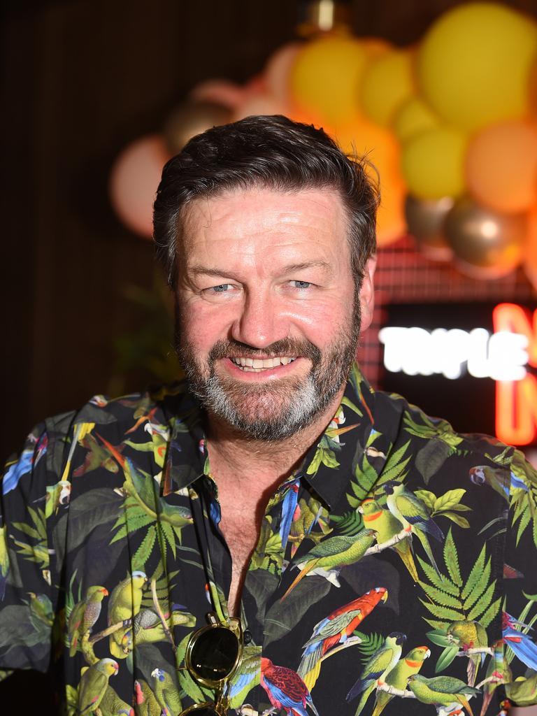 """Triple M Sydney's breakfast host Lawrence """"Moonman"""" Mooney."""