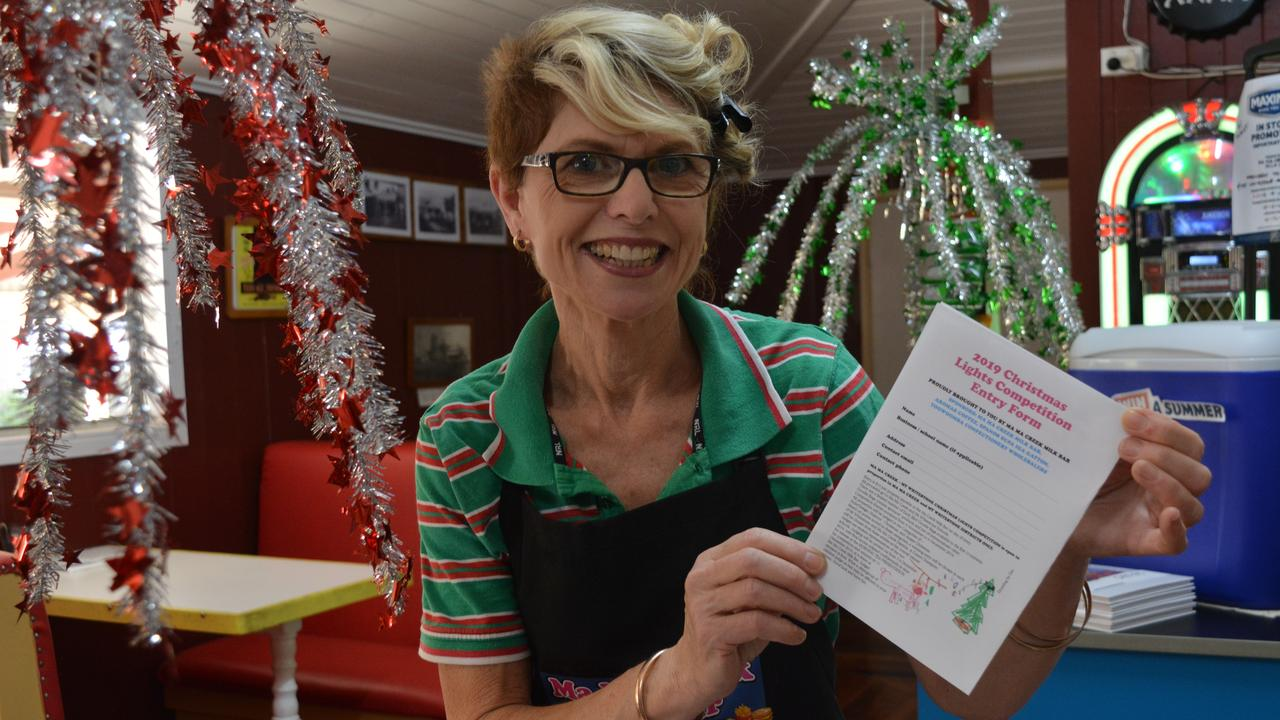 CONTEST TIME: The Ma Ma Creek Milk Bar is hosting its very own Christmas lights competition this year.