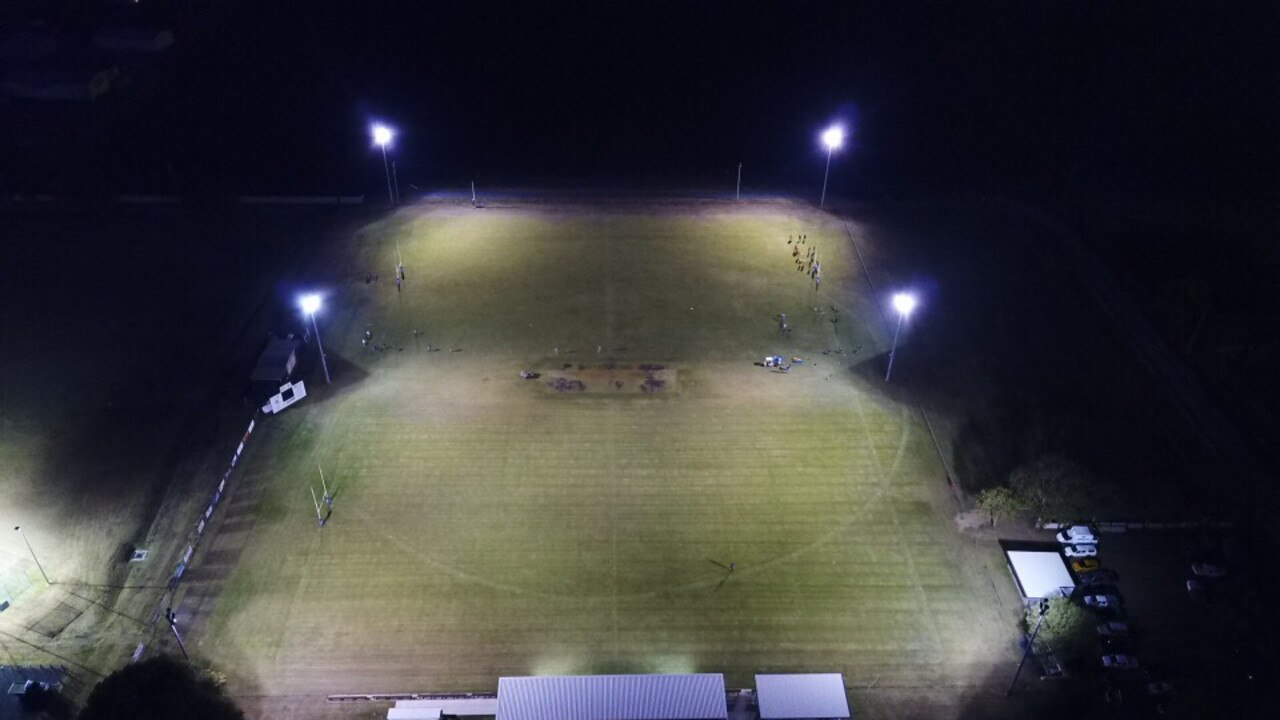 BRIGHT AND SHINY: Cahill Park's newly installed lighting system has made a huge difference to the complex, according to manager Mark Swan. The lights have already been given the seal of approval by the local cricket team.