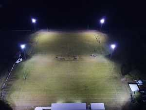 Cahill Park lights up the field for sports and fans