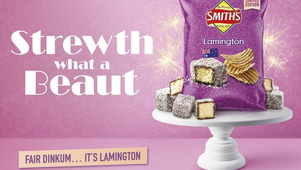 The new lamington chip flavour.