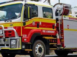 Crews stop flames from spreading in two-storey unit blaze