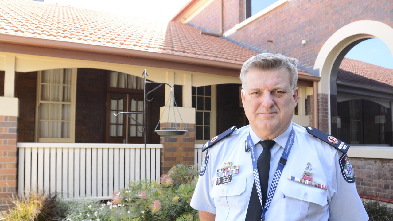 Queensland Police Assistant Commissioner Mike Condon is working to ensure there are no deaths on Darling Downs roads between now and the new year.