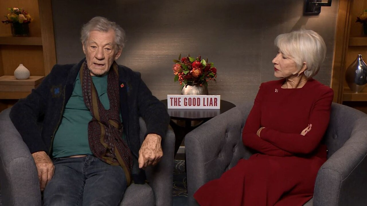 McKellen says there was a period in his life when he would lie every single day. Picture: News.com.au