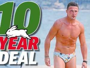 Rabbitohs' 10-year deal to keep Burgess at Redfern
