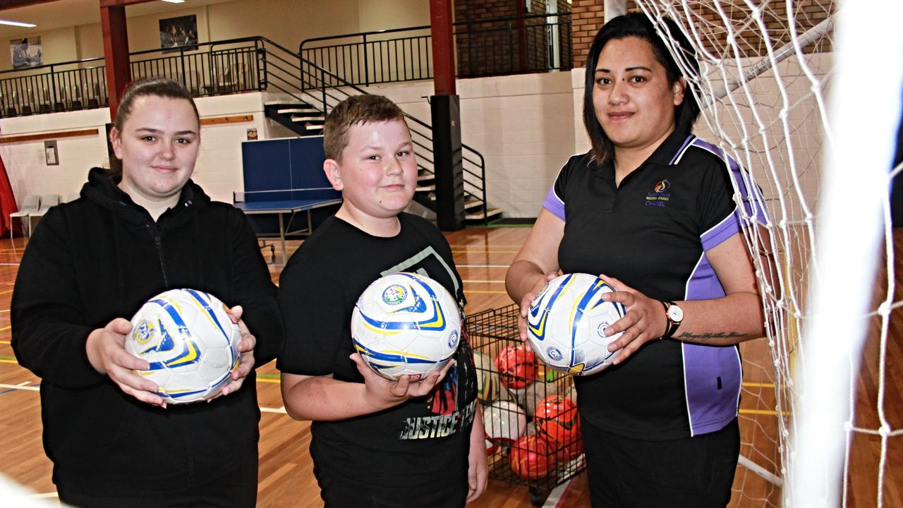 HITTING THE COURT: Teams from the Stanthorpe Fitness Centre's futsal competition will take the court at tomorrow night's preliminary and grand finals.