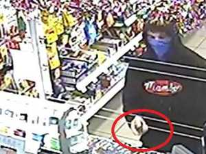 How this armed man robbed a Gympie servo on Sunday