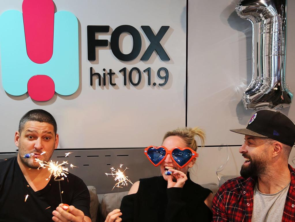 Fox Melbourne's Fifi, Fev and Byron